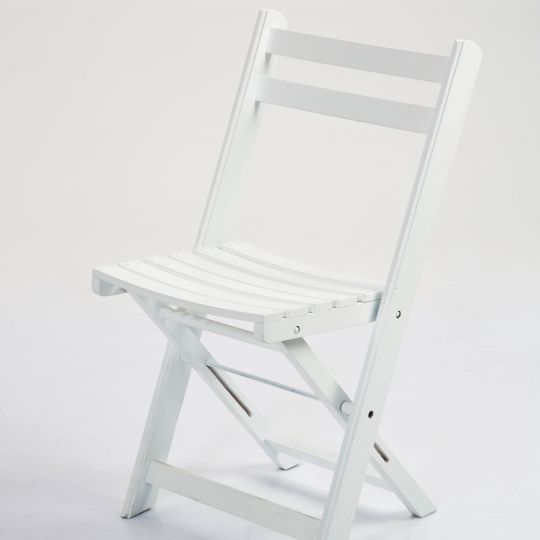 Chaise Campagne blanche