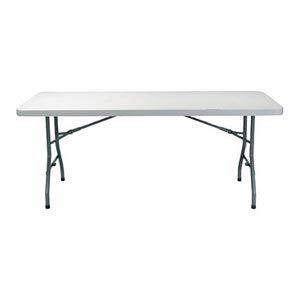 Table rectangulaire en PVC